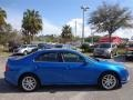 2011 Blue Flame Metallic Ford Fusion SEL  photo #9