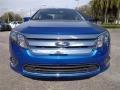 2011 Blue Flame Metallic Ford Fusion SEL  photo #13