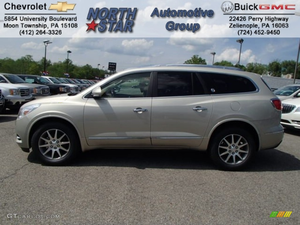 2013 Champagne Silver Metallic Buick Enclave Leather Awd 81684995 Car Color