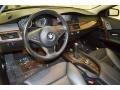 Black 2007 BMW 5 Series Interiors