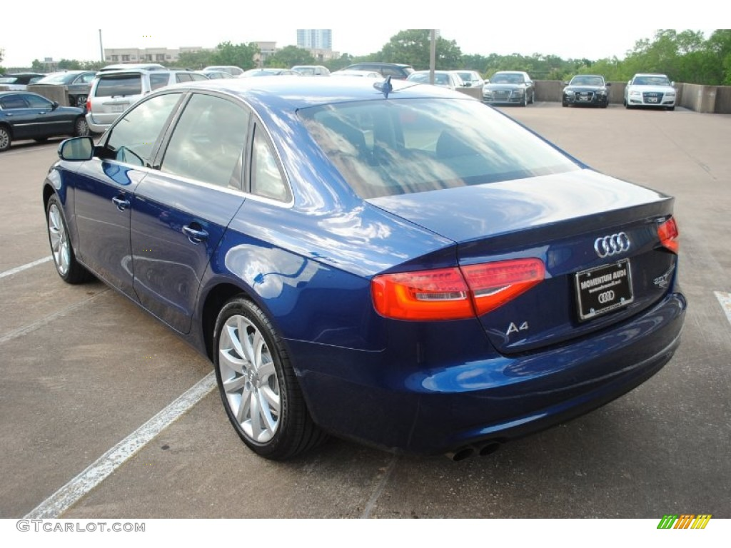 2013 a4 2 0t quattro sedan scuba blue metallic black photo 5