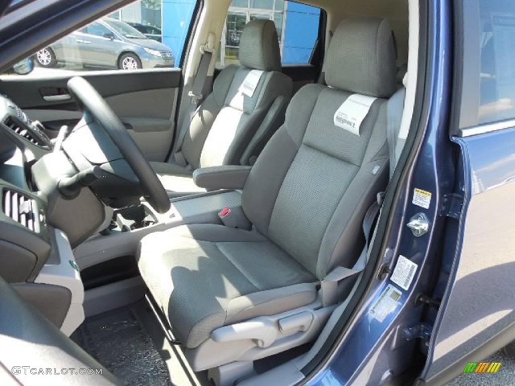 2013 CR-V EX AWD - Twilight Blue Metallic / Gray photo #7