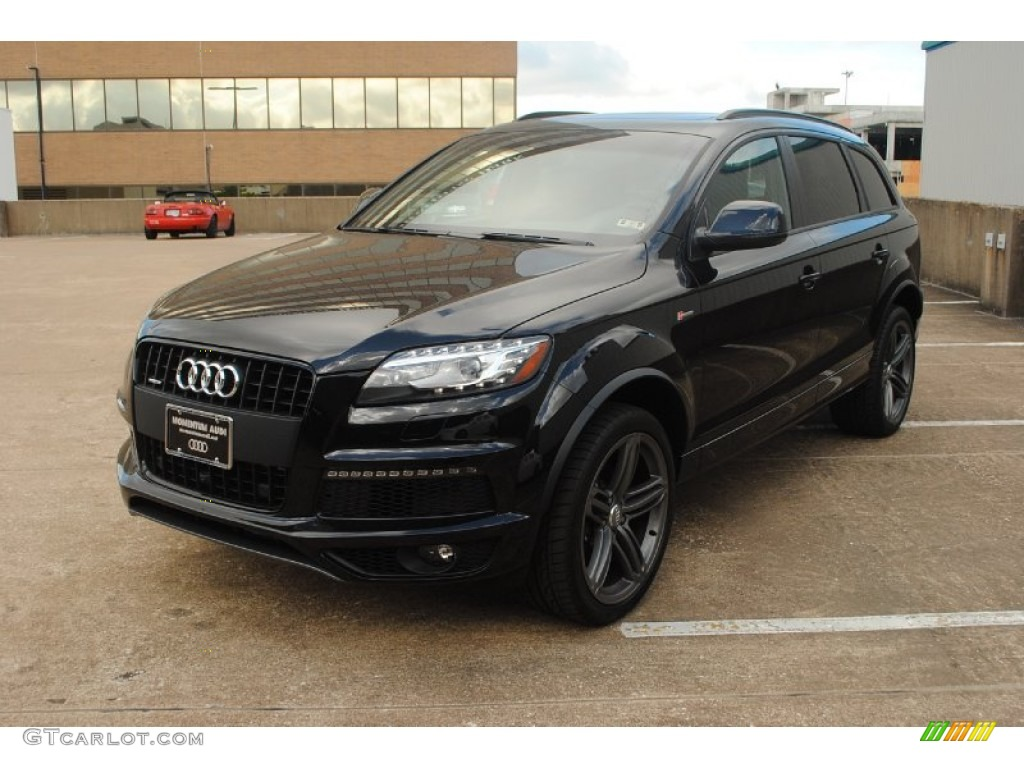 2013 orca black metallic audi q7 3 0 s line quattro. Black Bedroom Furniture Sets. Home Design Ideas