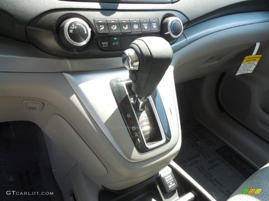 2013 CR-V EX AWD - Twilight Blue Metallic / Gray photo #13