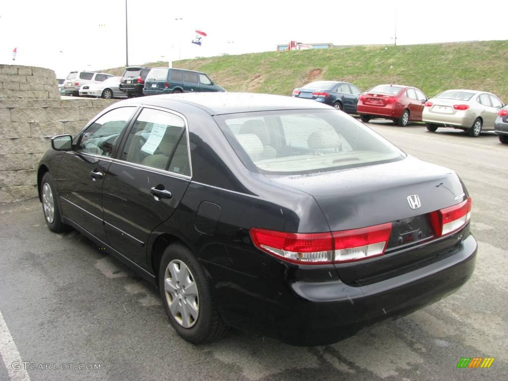 2003 nighthawk black pearl honda accord lx sedan 8155327. Black Bedroom Furniture Sets. Home Design Ideas