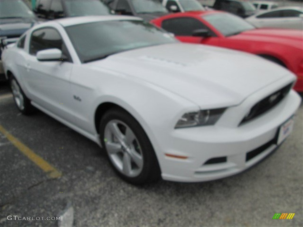2014 oxford white ford mustang gt coupe 81684845. Black Bedroom Furniture Sets. Home Design Ideas