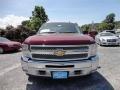 2013 Deep Ruby Metallic Chevrolet Silverado 1500 LT Crew Cab 4x4  photo #2