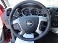 2013 Deep Ruby Metallic Chevrolet Silverado 1500 LT Crew Cab 4x4  photo #11