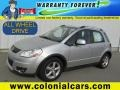 Quicksilver Metallic 2009 Suzuki SX4 Crossover Touring AWD