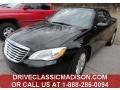 Black 2011 Chrysler 200 Touring Convertible