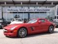 AMG Le Mans Red Metallic 2012 Mercedes-Benz SLS AMG