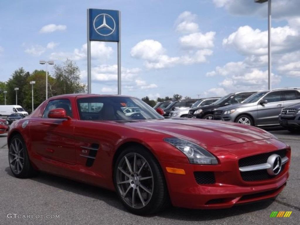 Amg le mans red metallic 2012 mercedes benz sls amg for Mercedes benz sls amg red