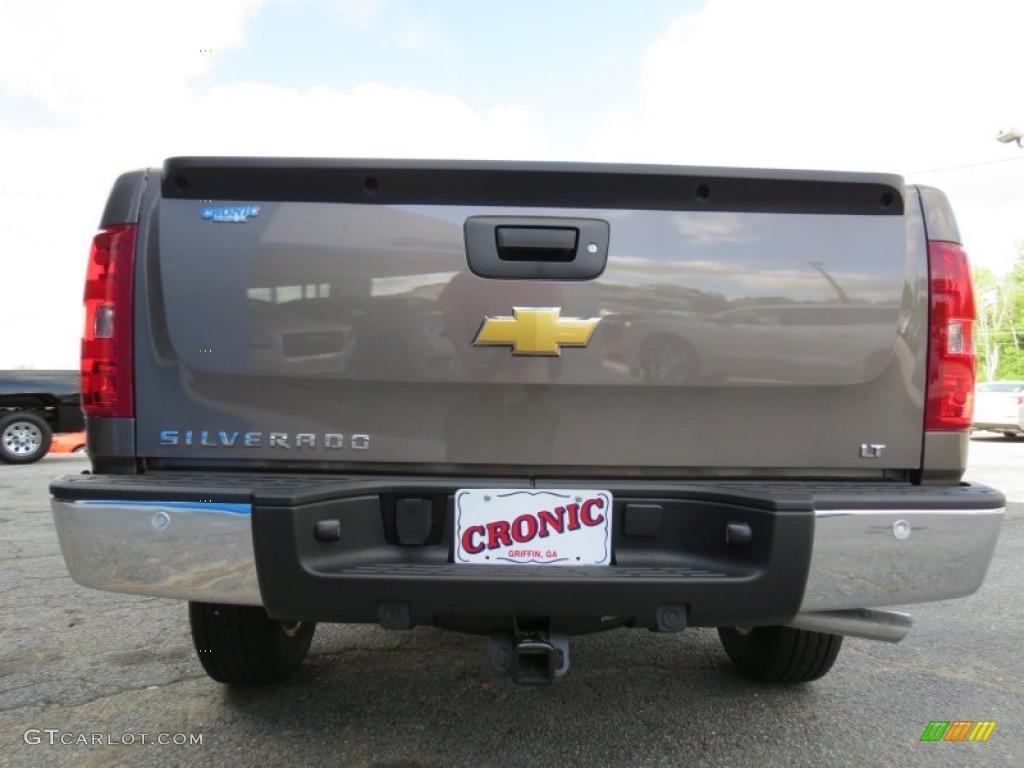 2013 Silverado 1500 LT Extended Cab - Mocha Steel Metallic / Light Cashmere/Dark Cashmere photo #6