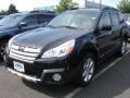 Crystal Black Silica 2013 Subaru Outback 2.5i Limited