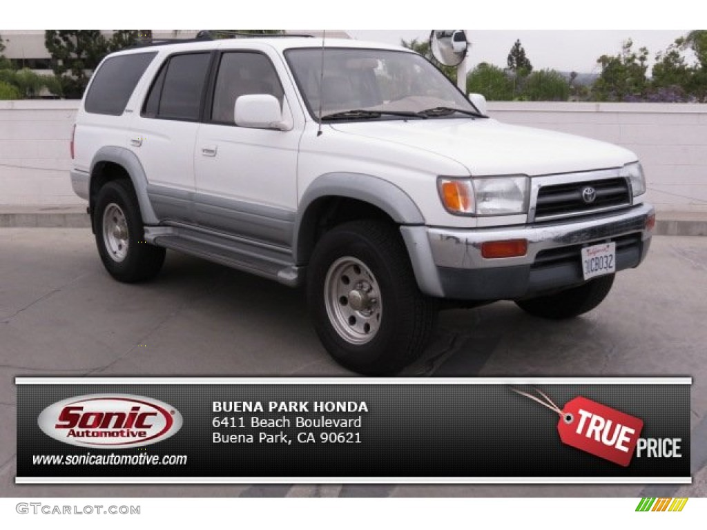 1997 natural white toyota 4runner limited 4x4 81742084. Black Bedroom Furniture Sets. Home Design Ideas