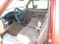 Beige 1994 Ford F150 Interiors