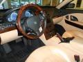 Tan 2006 Maserati Quattroporte Interiors