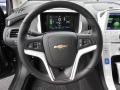 Jet Black/Ceramic White Accents Steering Wheel Photo for 2013 Chevrolet Volt #81772734