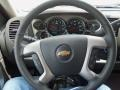 Ebony Steering Wheel Photo for 2013 Chevrolet Silverado 1500 #81774426