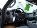 2012 Ingot Silver Metallic Ford F250 Super Duty XL Crew Cab 4x4  photo #9