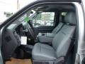 2012 Ingot Silver Metallic Ford F250 Super Duty XL Crew Cab 4x4  photo #10