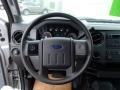 2012 Ingot Silver Metallic Ford F250 Super Duty XL Crew Cab 4x4  photo #19