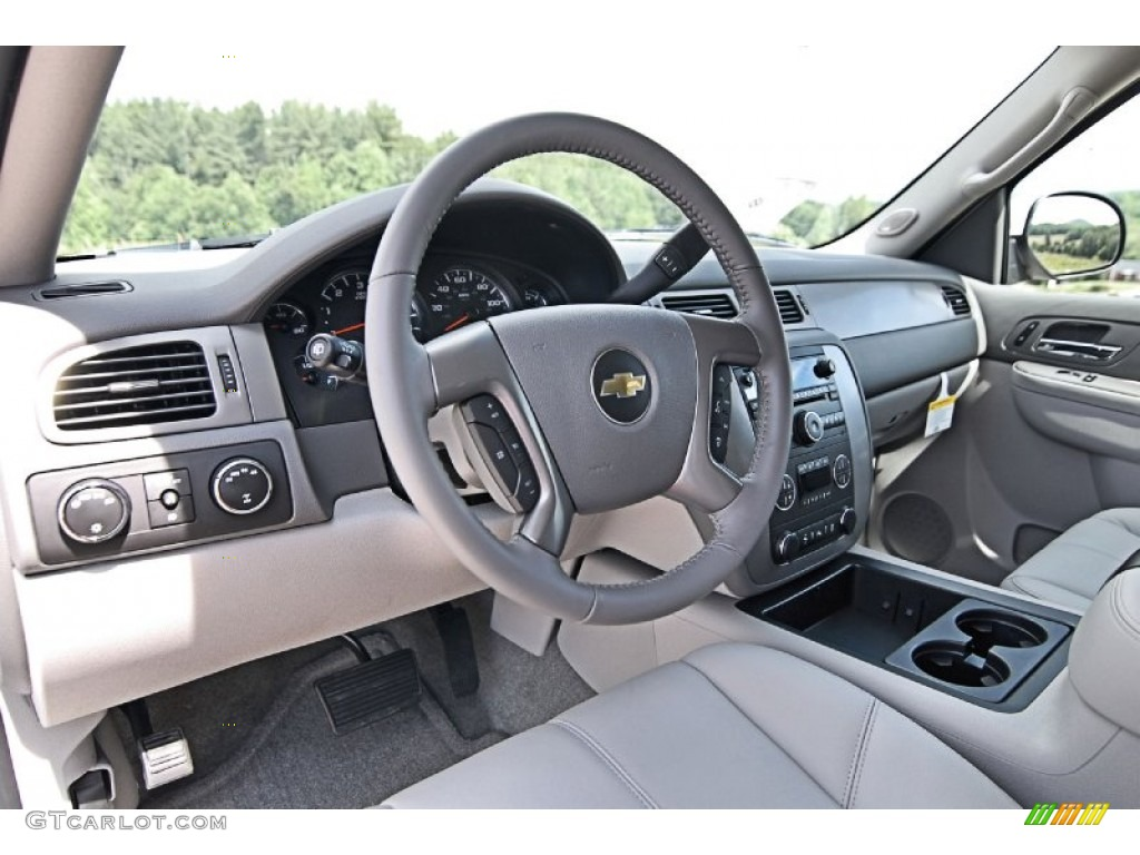 Light Titanium Dark Titanium Interior 2013 Chevrolet Tahoe Lt 4x4 Photo 81781966
