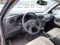 Light Cashmere/Ebony 2005 Chevrolet TrailBlazer Interiors