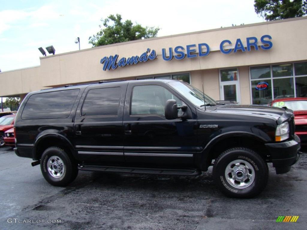 2003 Black Ford Excursion Limited 4x4 81770232 Gtcarlot