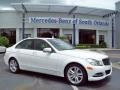 Polar White 2013 Mercedes-Benz C 250 Luxury