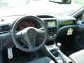 2013 Subaru Impreza STi Carbon Black Leather Interior Interior Photo