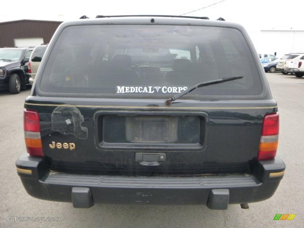 1995 black jeep grand cherokee limited 4x4 81770142 photo 3 gtcarlot com car color galleries