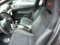 STi Black Alcantara/Carbon Black Front Seat Photo for 2013 Subaru Impreza #81789886