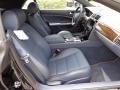 2013 Jaguar XK Portfolio Navy/Poltrona Frau Leather Headlining Interior Front Seat Photo