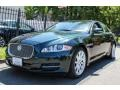 Botanical Green Metallic 2011 Jaguar XJ XJ