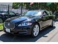 Ebony 2012 Jaguar XJ XJL Portfolio