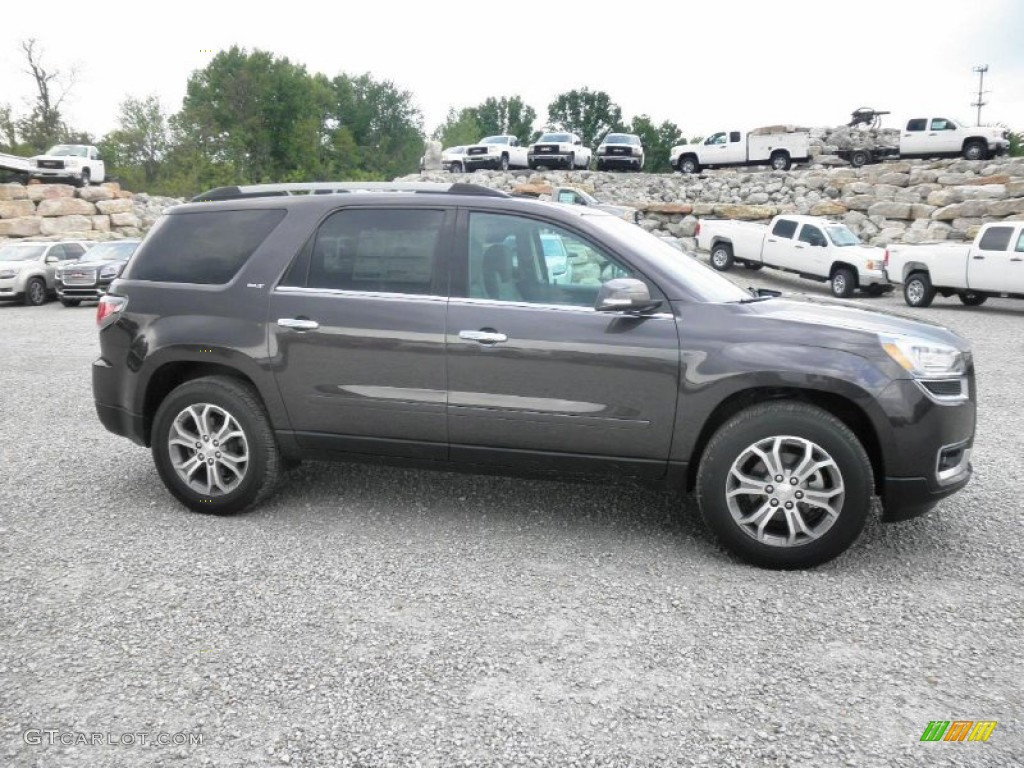 2013 Acadia SLT - Iridium Metallic / Dark Cashmere photo #1