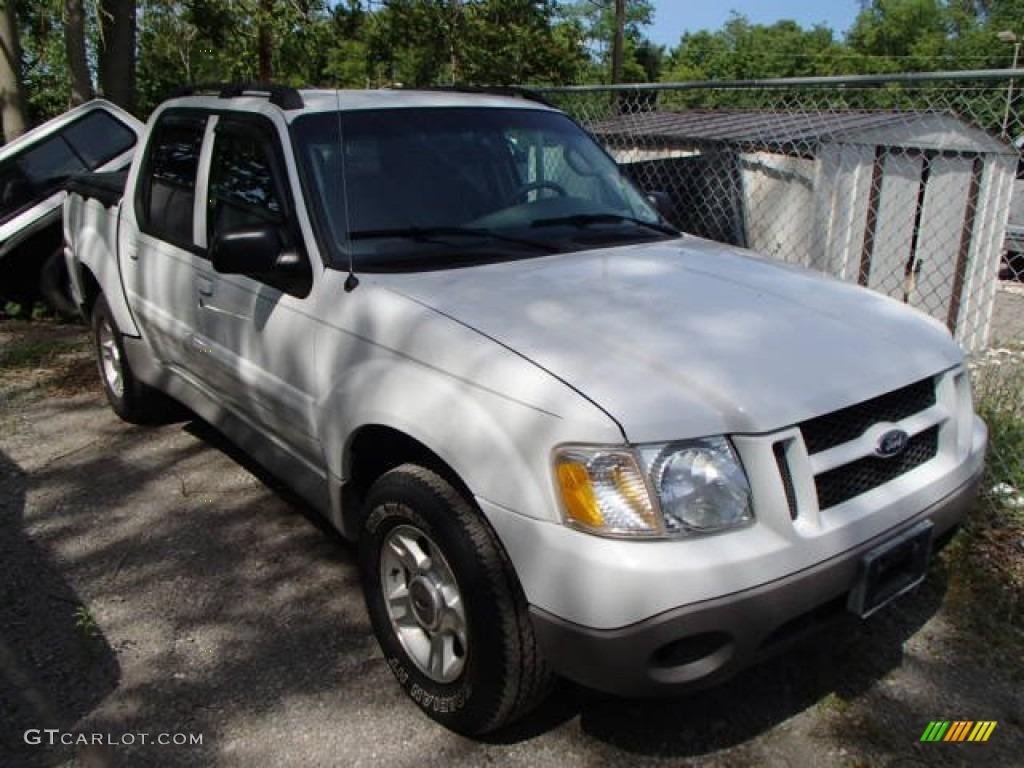 2003 Oxford White Ford Explorer Sport Trac XLT 4x4 81810481