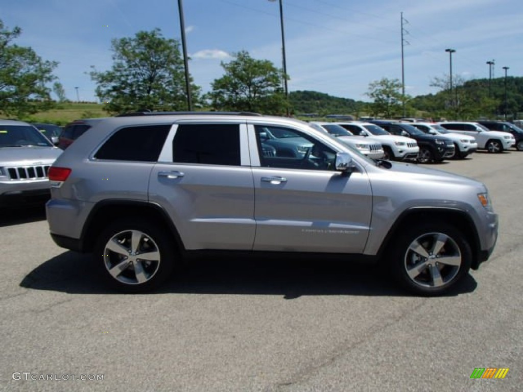 2014 Grand Cherokee Limited 4x4 - Billet Silver Metallic / Morocco Black photo #5