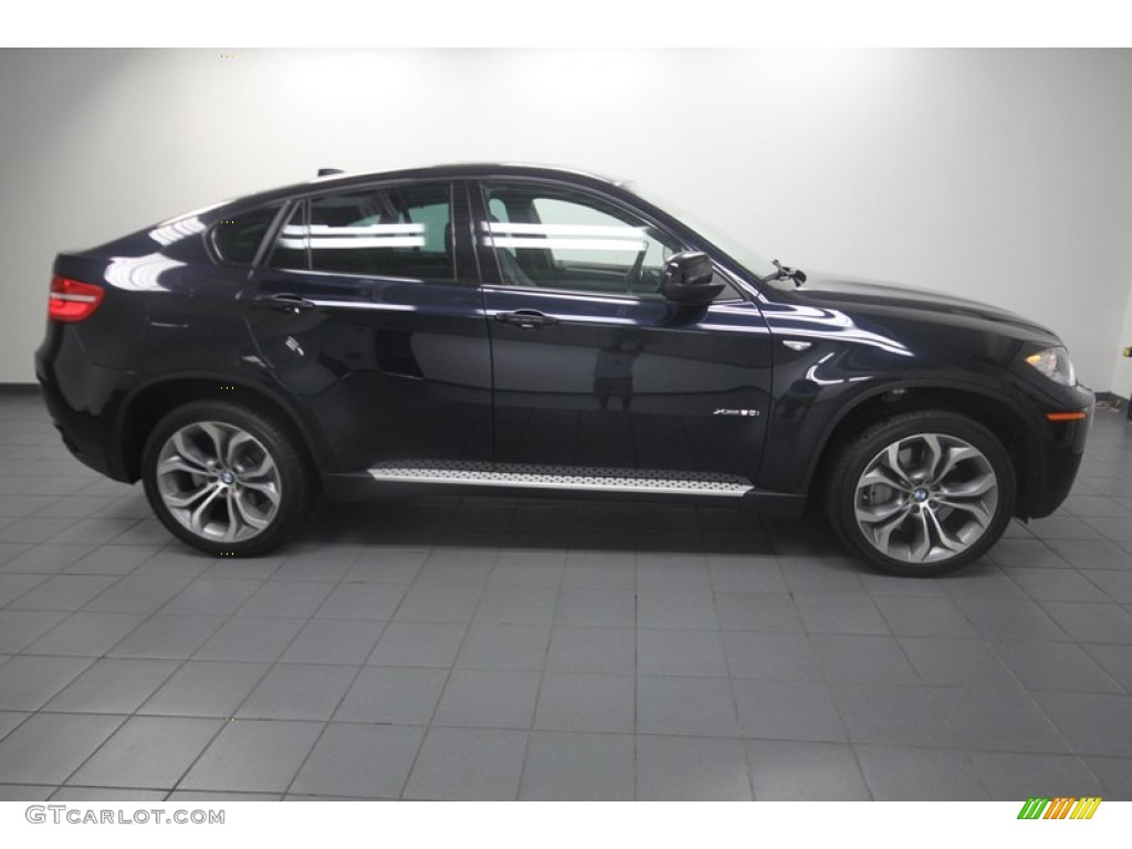 carbon black metallic 2013 bmw x6 xdrive50i exterior photo. Black Bedroom Furniture Sets. Home Design Ideas