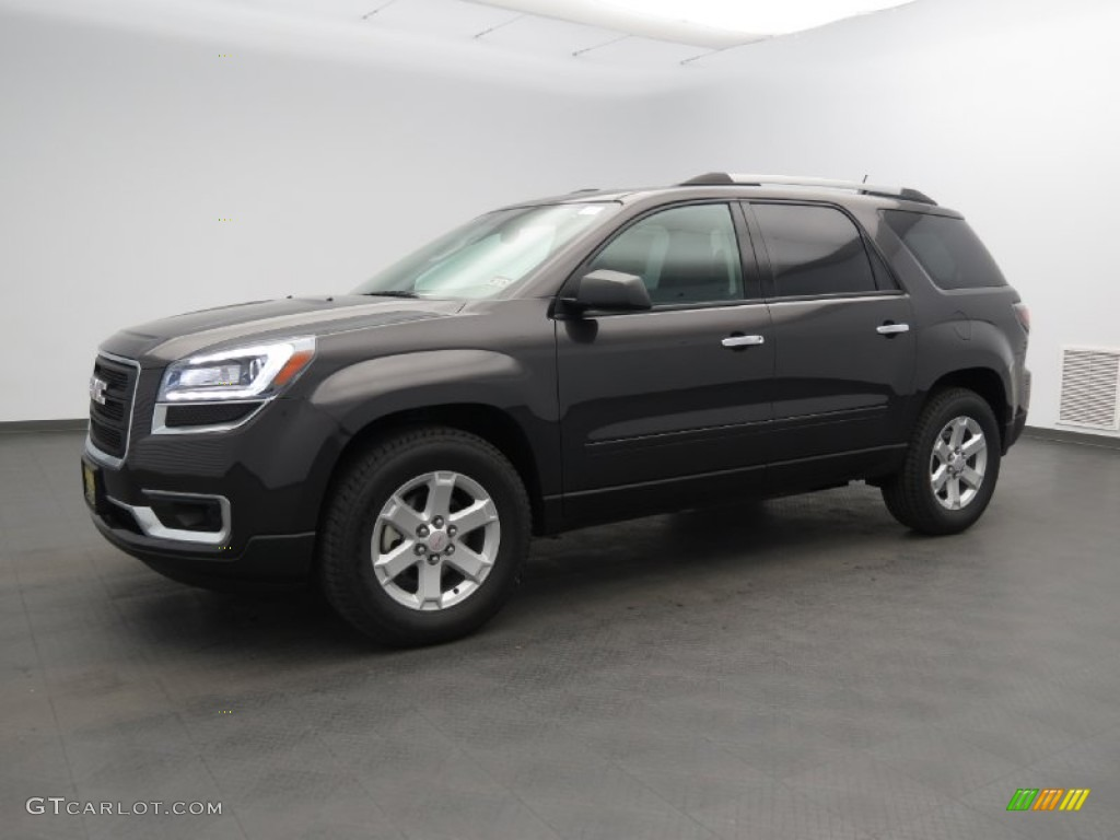 2013 Acadia SLE - Iridium Metallic / Ebony photo #1