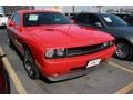 Inferno Red Crystal Pearl Coat 2009 Dodge Challenger SE