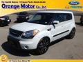 Clear White 2010 Kia Soul Ghost Special Edition