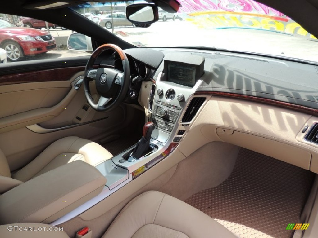 Cashmere/Ebony Interior 2013 Cadillac CTS Coupe Photo ...