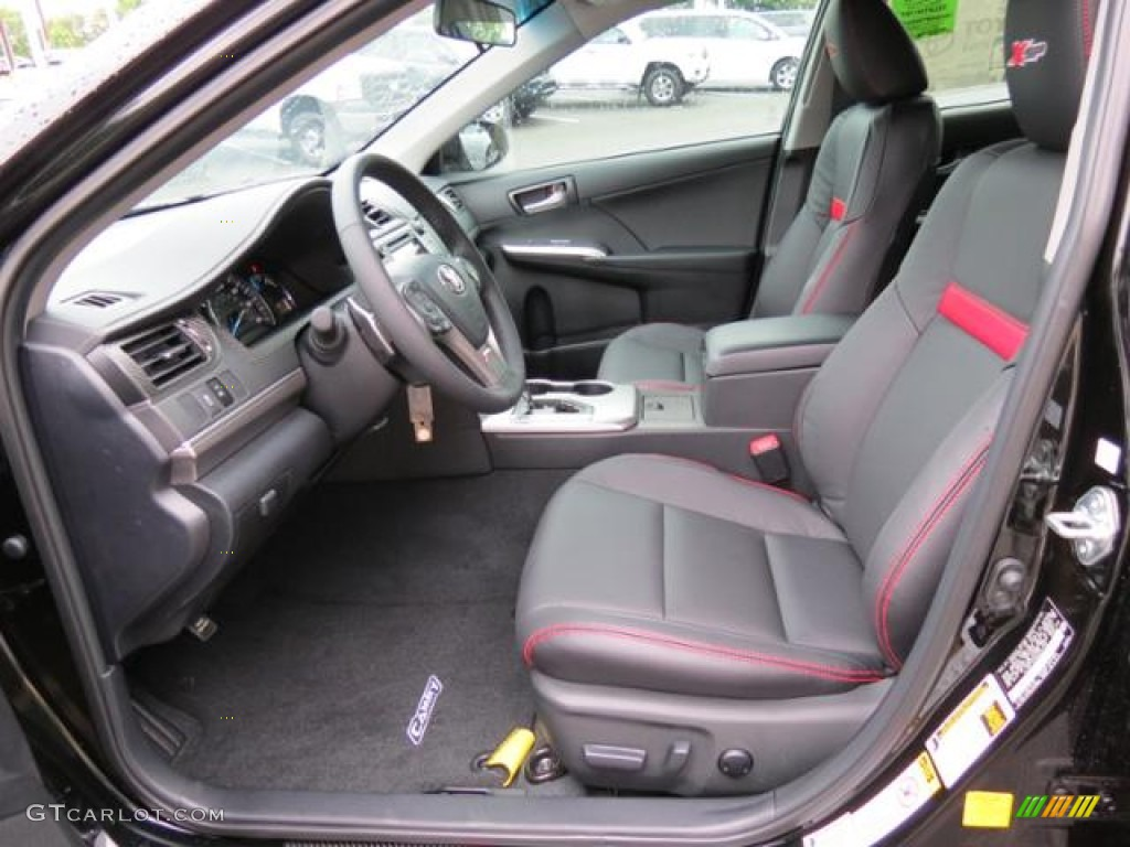 xsp red black interior 2013 toyota camry xsp photo 81854094. Black Bedroom Furniture Sets. Home Design Ideas
