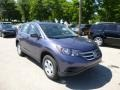 2013 Twilight Blue Metallic Honda CR-V LX AWD  photo #1