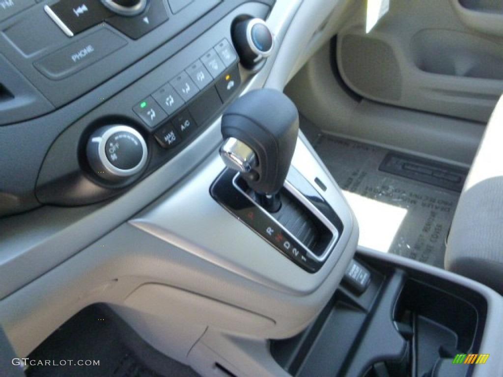 2013 CR-V LX AWD - Twilight Blue Metallic / Gray photo #16