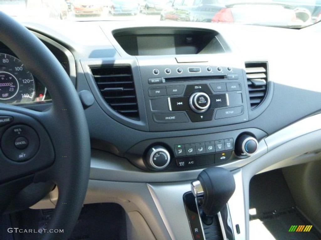 2013 CR-V LX AWD - Twilight Blue Metallic / Gray photo #18