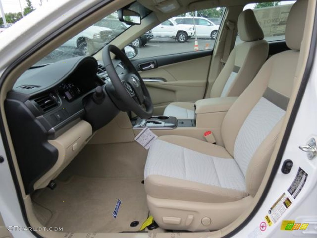 ivory interior 2013 toyota camry hybrid xle photo 81854997. Black Bedroom Furniture Sets. Home Design Ideas