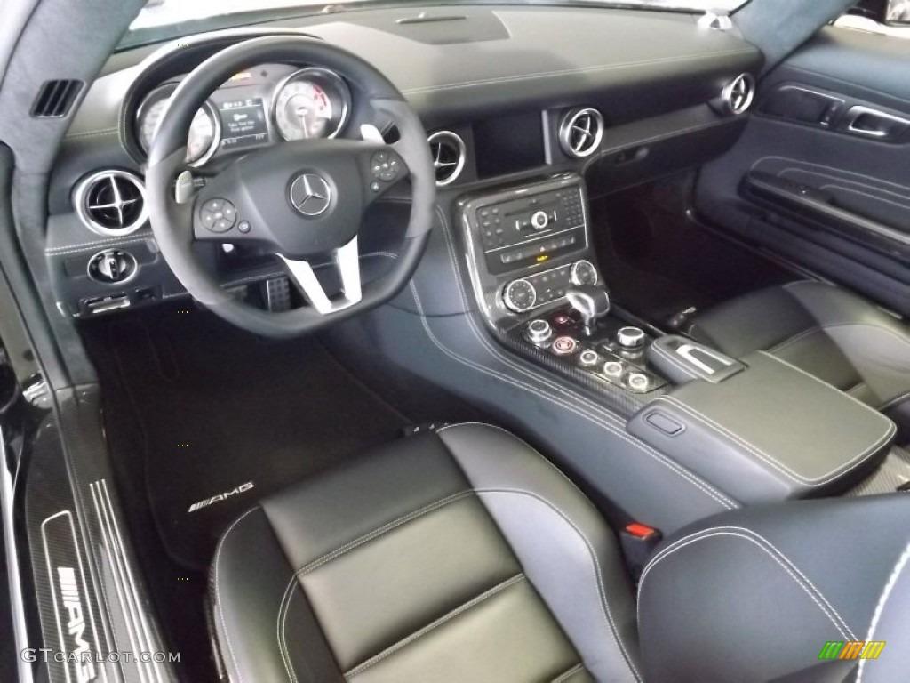 2012 Mercedes Benz Sls Amg Roadster Interior Color Photos
